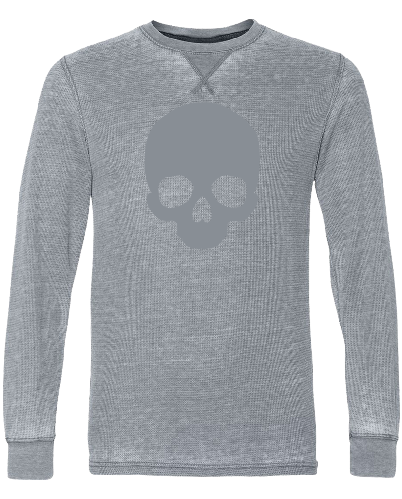 "OHEARN ""SKULL"" Vintage Long Sleeve Thermal"