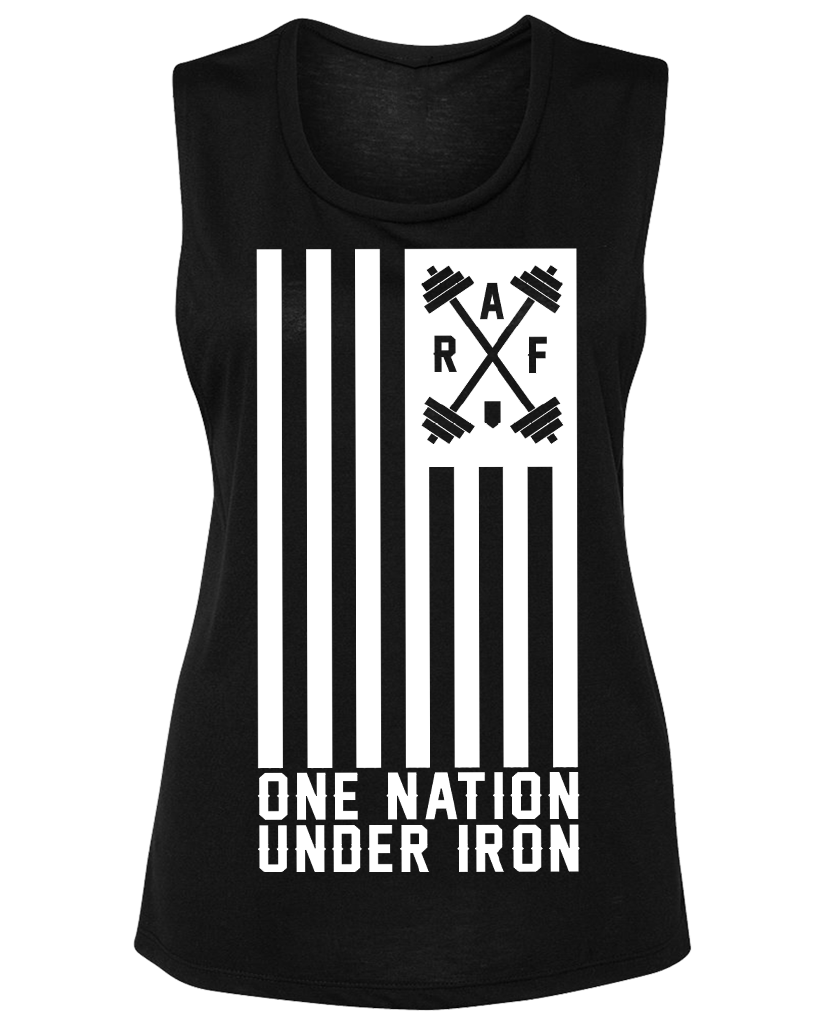 "RAF ""ONE NATION UNDER IRON"" Muscle Tee"