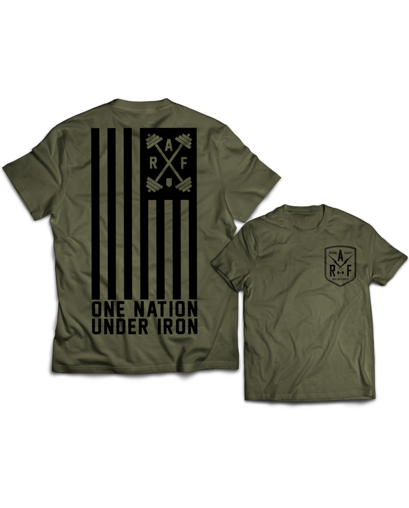 "RAF ""ONE NATION UNDER IRON"" Tee"