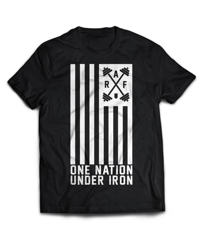 "RAF Original ""ONE NATION UNDER IRON"" Tee"
