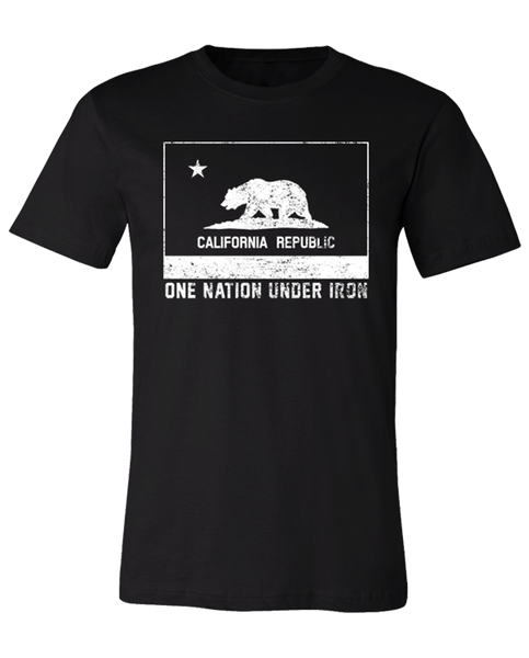 "RAF ""ONE NATION UNDER IRON"" California Wildfire Relief Benefit Tee"