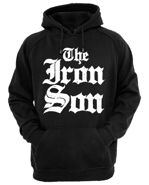 "THE IRON SON ""THE IRON SON"" Pullover Hoodie"