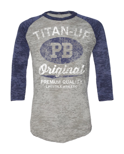"OHEARN ""TITAN UP"" Burnout Raglan"