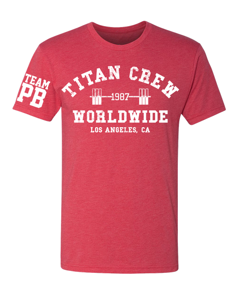 "LIMITED EDITION | OHEARN ""TITAN CREW WORLDWIDE"" Tee"