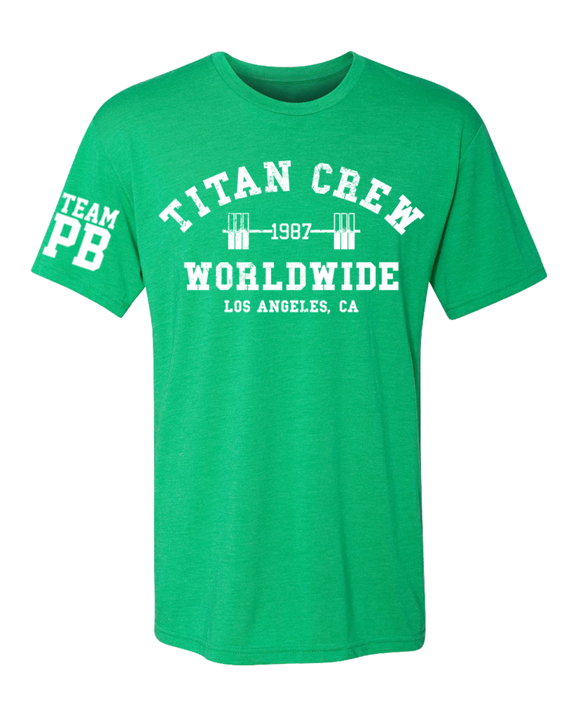 "OHEARN ""TITAN CREW WORLDWIDE"" Tee 