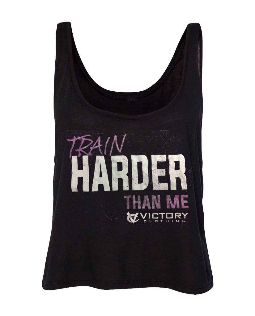 "VC ""TRAIN HARDER"" Boxy Tank"