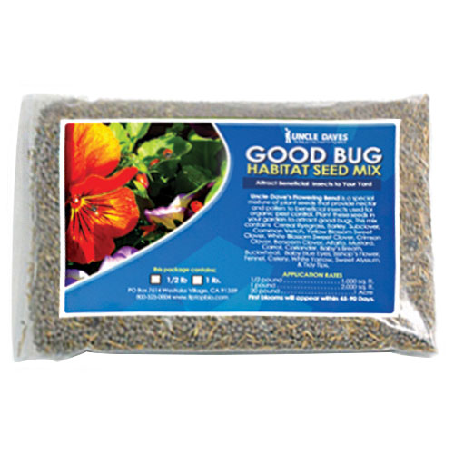 Good Bug Habitat & Attractant Seed Mix
