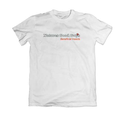 NGG Word Logo White Tshirt - Mens