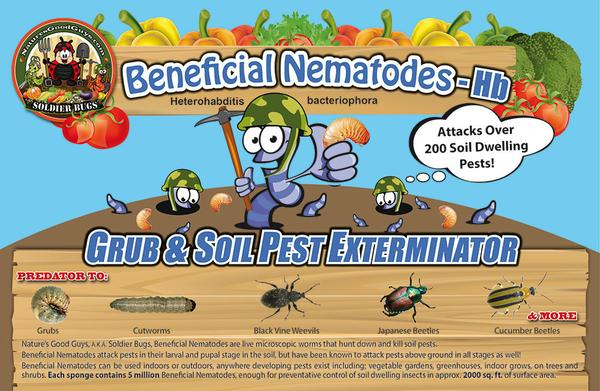 Beneficial Nematodes HB - Label