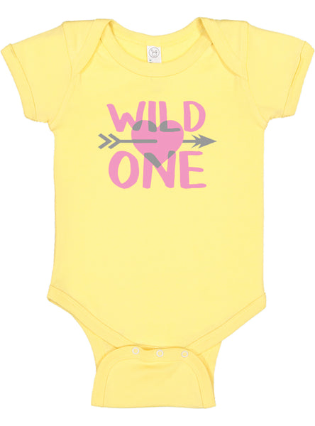 Baby Girl First Birthday Outfit | Wild One