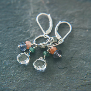 Free Spirit: Silver Dangle Earrings - Rei of Light Jewelry Designs