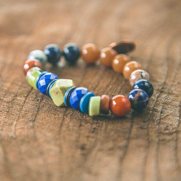 Earths Energy Super Nova Stacking Bracelet