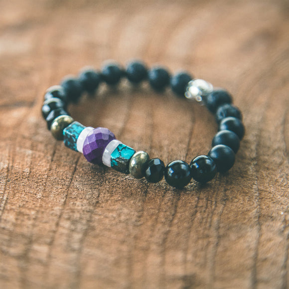 Strength: Gemstone Stacking Bracelet