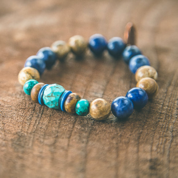 Heaven and Earth: Boho Stacking Bracelet