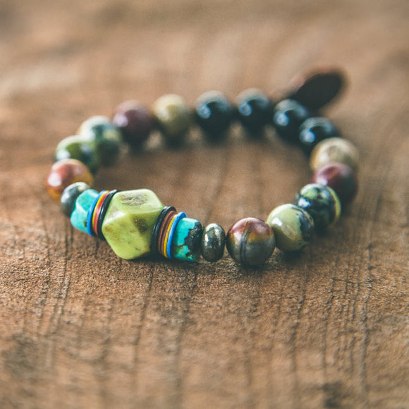 Hippy Tree Hugger: Bohemian Earth Bracelet