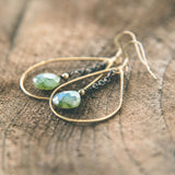 Night Sky Labradorite Earrings