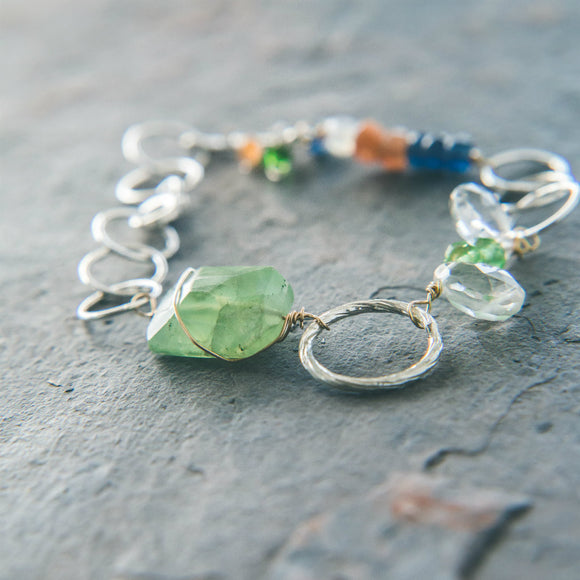 Gemstone Protection Bracelet