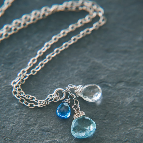 Balance Necklace: Elegant Tranquility - Rei of Light Jewelry Designs
