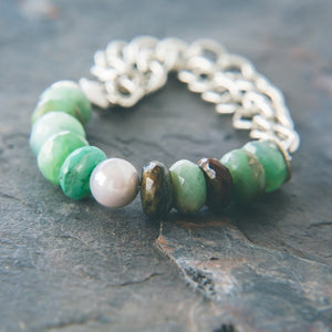 Be Calm Bracelet: Tranquility - Rei of Light Jewelry Designs