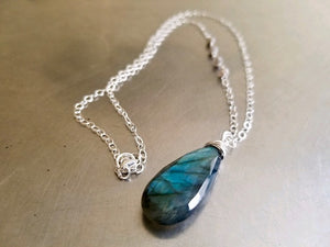 Limited Edition Labradorite Necklace