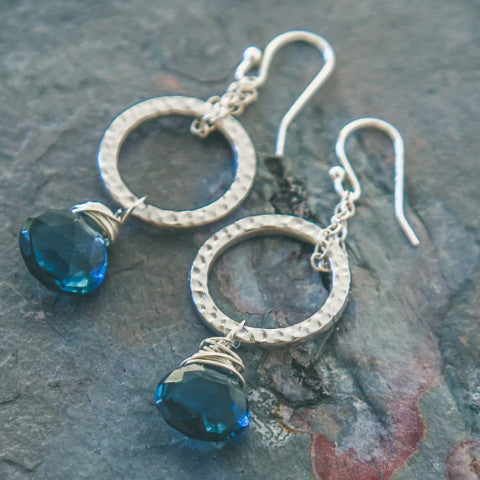 Karma Earrings: Exquisite Handmade Jewelry - Rei of Light Jewelry Designs