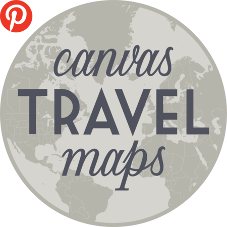 Canvas Travel Maps