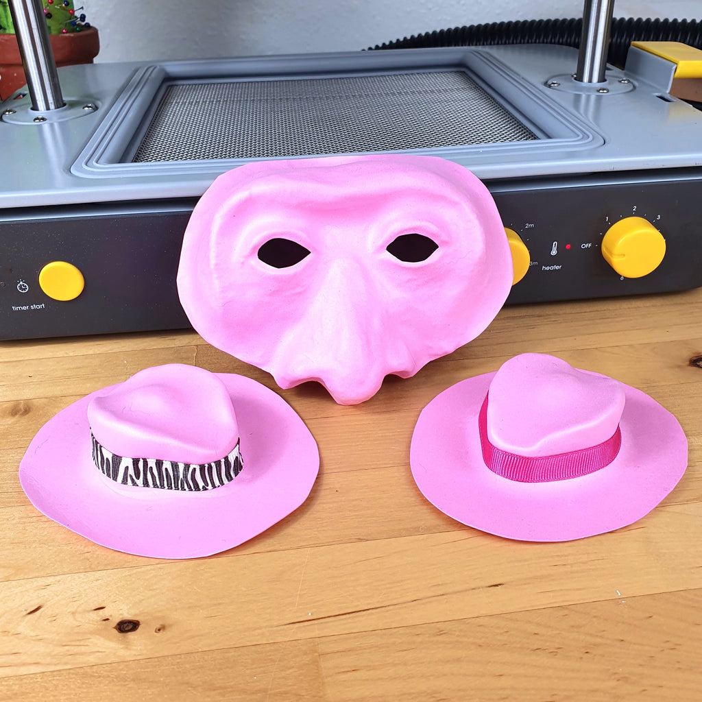 How to Make EVA Foam Masks and Hats using Vacuum Forming