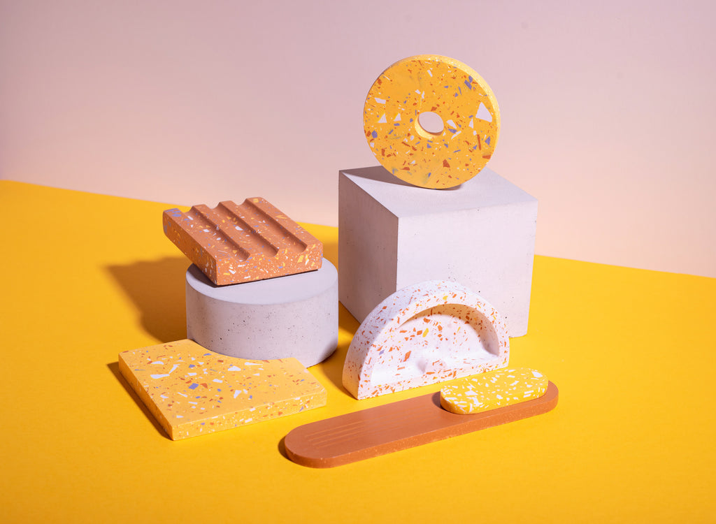 Jesmonite Homewares brand Evka Home shows you how to make custom molds with the FormBox