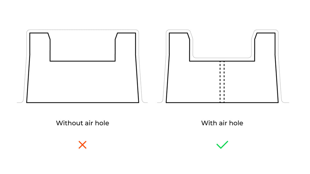 How to Add Air Holes to a 3D Printed Master for Vacuum Forming