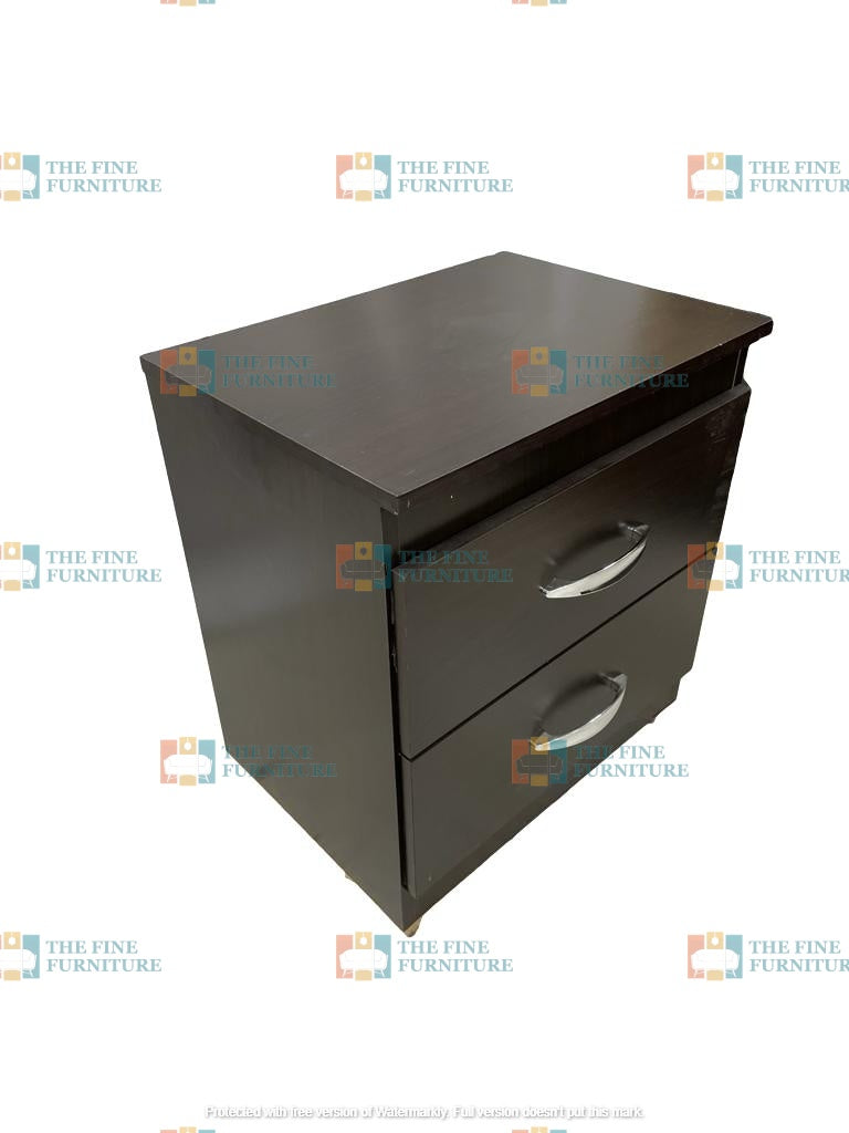 Cassius 2 Drawer Night Stand - The Fine Furniture