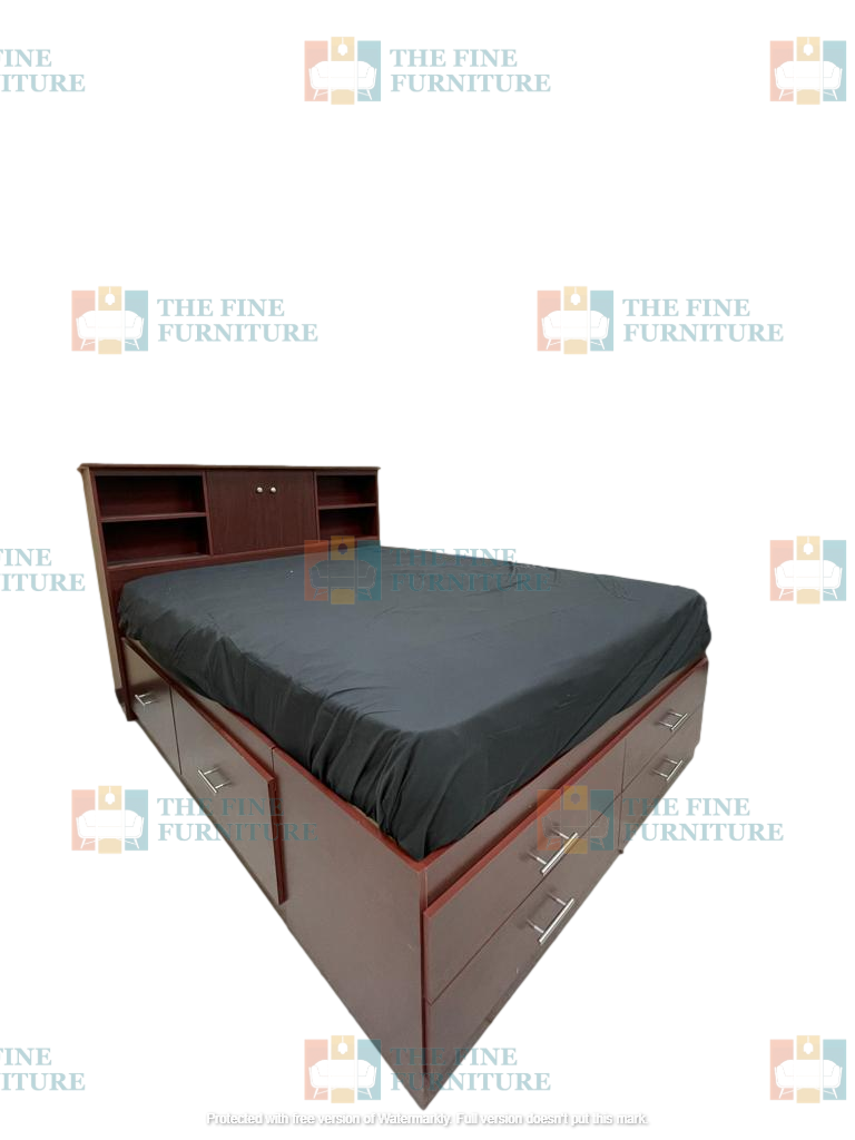 Soren Bed Frame - Single/Double/Queen/King - The Fine Furniture