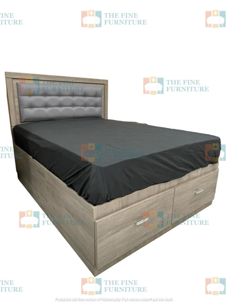 Memphis Bed Frame - Single/Double/Queen/King - The Fine Furniture