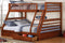 Maddux Bunk Bed - Twin/Full - Honey - The Fine Furniture
