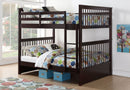 Seamus Bunk Bed - Full/Full - Espresso - The Fine Furniture