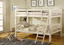 Rosalee Bunk Bed - Single/Single - White - The Fine Furniture