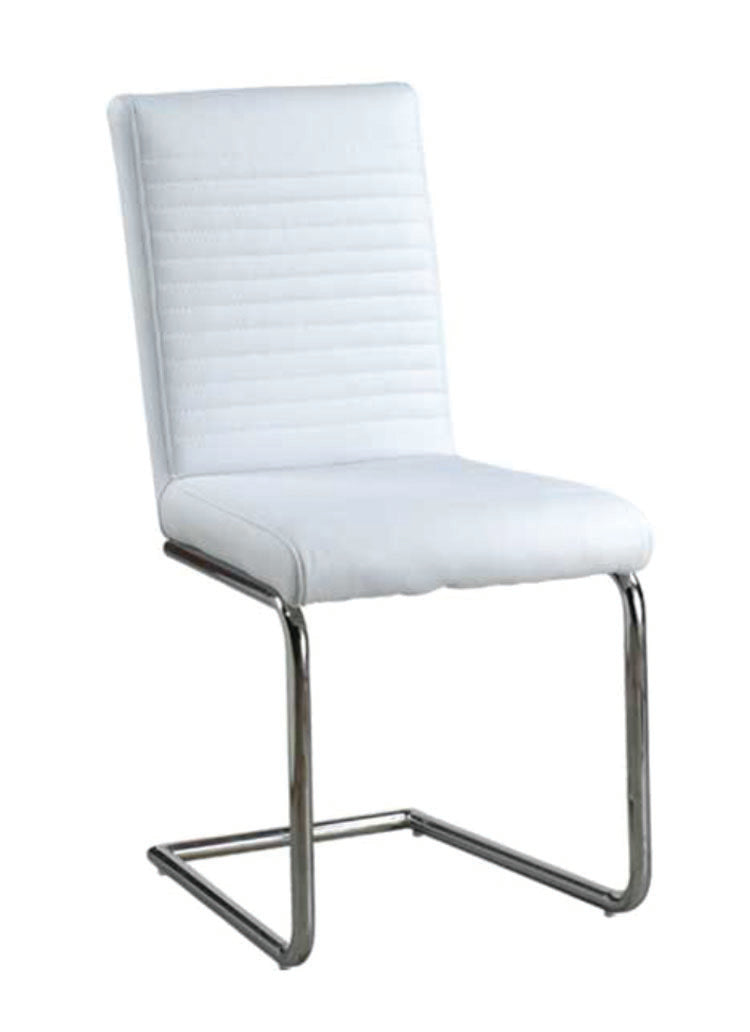 Max Dining Chair in Black or White ( Set of 6) - The Fine Furniture