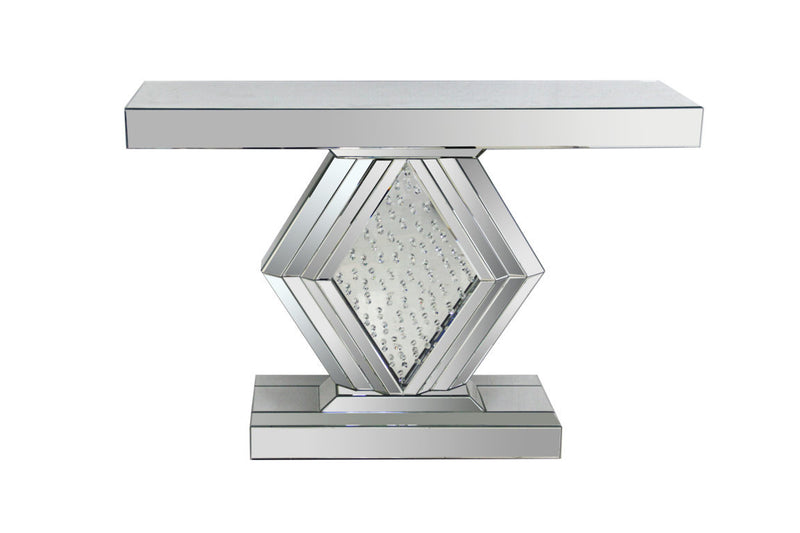 Martin Mirrored Console Table - The Fine Furniture