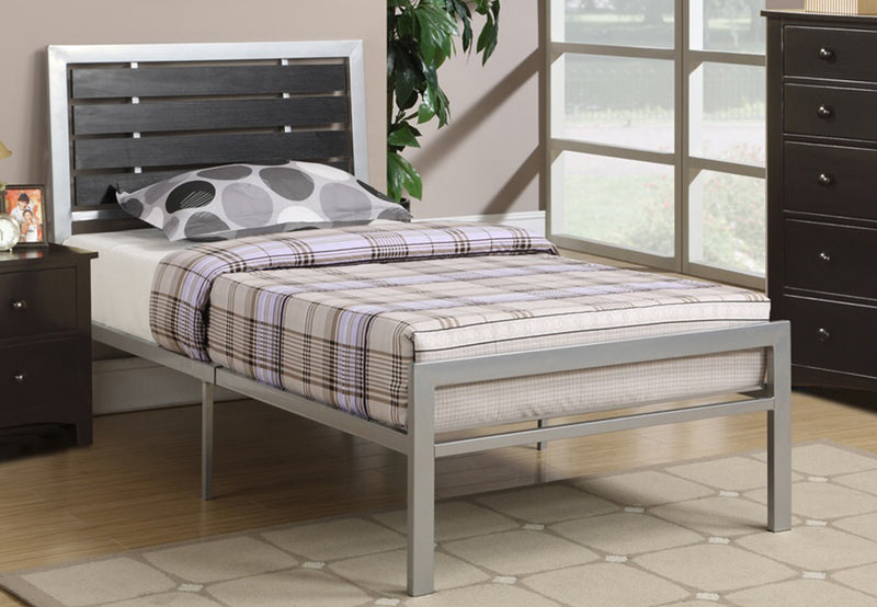 Craig Bed Frame - Silver - Single/Double/Queen - The Fine Furniture
