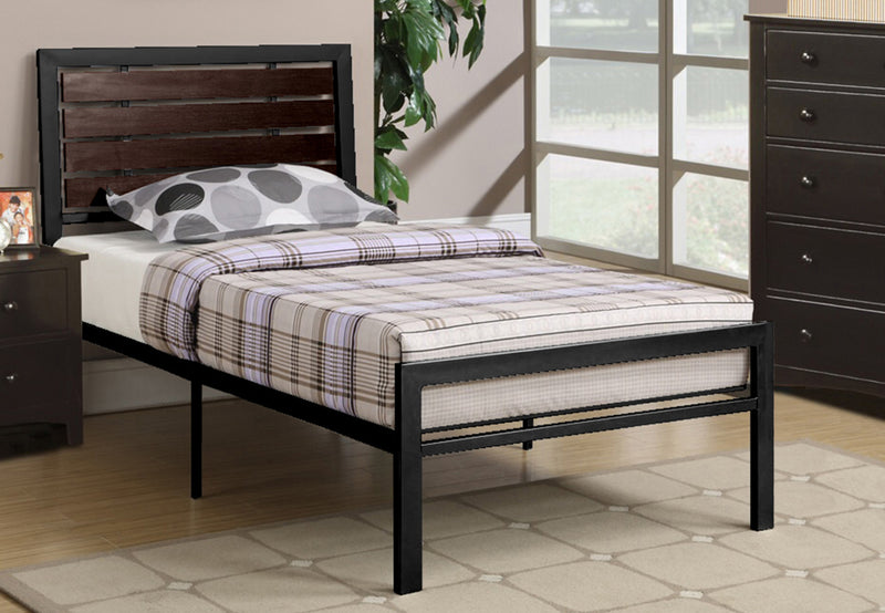 Craig Bed Frame - Black - Single/Double/Queen - The Fine Furniture