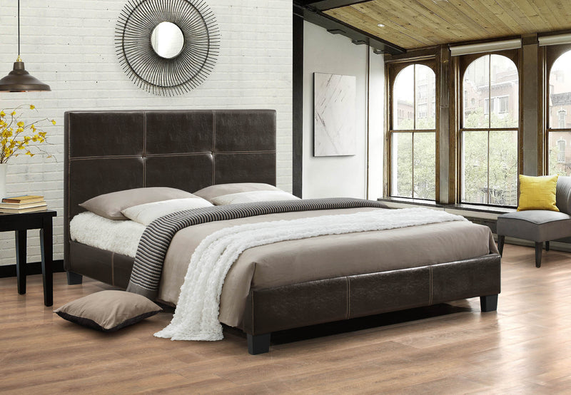 Brenden Bed Frame - Espresso - Double/Queen/King - The Fine Furniture