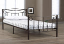 Gianluca Single Metal Bed - Black - The Fine Furniture