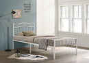 Emerald Bed Frame - White - Single/Double - The Fine Furniture