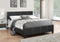 Yara Bed Frame - Black - Single/Double/Queen - The Fine Furniture