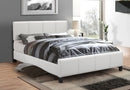 Yara Bed Frame - White - Single/Double/Queen - The Fine Furniture