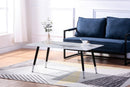 Gwen Coffee Table - White Marble - The Fine Furniture