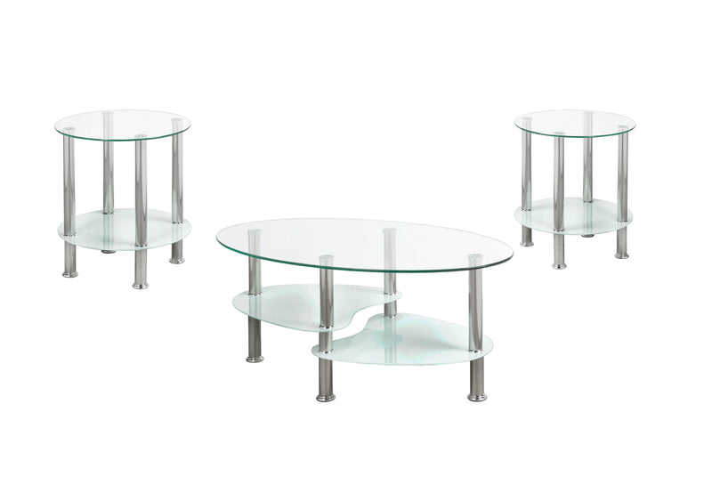 Randall Coffee Table - White - The Fine Furniture