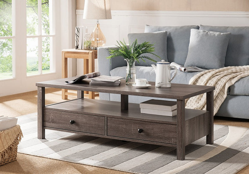 Amaris Coffee Table - Grey - The Fine Furniture