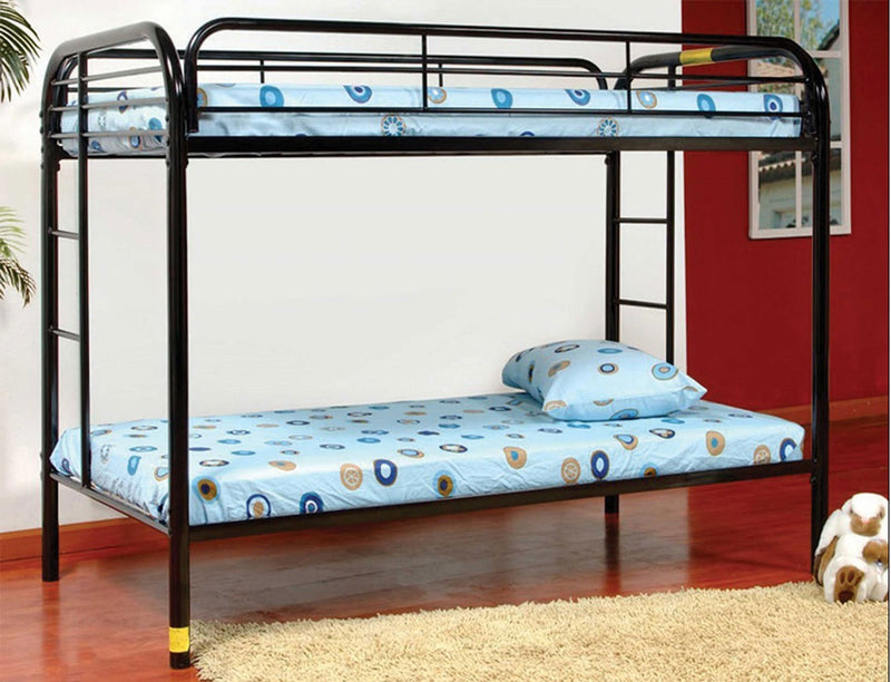 Pam Metal Bunk Bed - Single/Single - The Fine Furniture