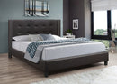 Anton Bed Frame - Brown - Double/Queen/King - The Fine Furniture
