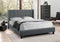 Anton Bed Frame - Grey - Double/Queen/King - The Fine Furniture